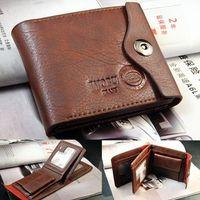 Genuine Credit ID Card Holder Slim Purse Mens Bifold Wallet