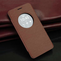 Leather Flip Case For ASUS ZenFone 5 Smart View Flip Cover