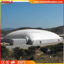 Hot sale large inflatable tent,popular inflatable tennis tent for winter