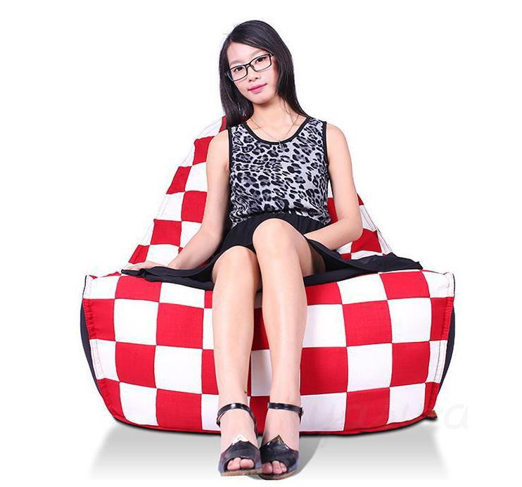 get quotations free shipping size 8510381cm bean bag cover sofa relax chairs adult u0026kids - Cheap Bean Bag Chairs