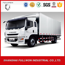 Yuejin china brand food 4*2 4ton light van truck for sale