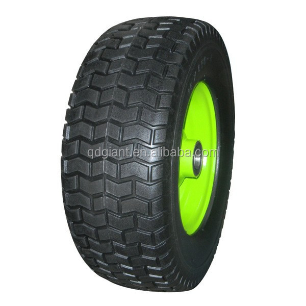 "Big Pu Wheels for Lawn mowers 16"" x 6.50-8"