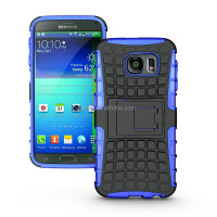 Heavy duty strong tradesman TPU hard case cover with stand for Samsung Galaxy S6