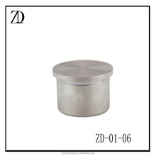 end cap 304 316 stainless steel cap for glass railing fittings