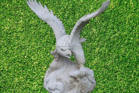 Hot sale animal stone eagle carvings