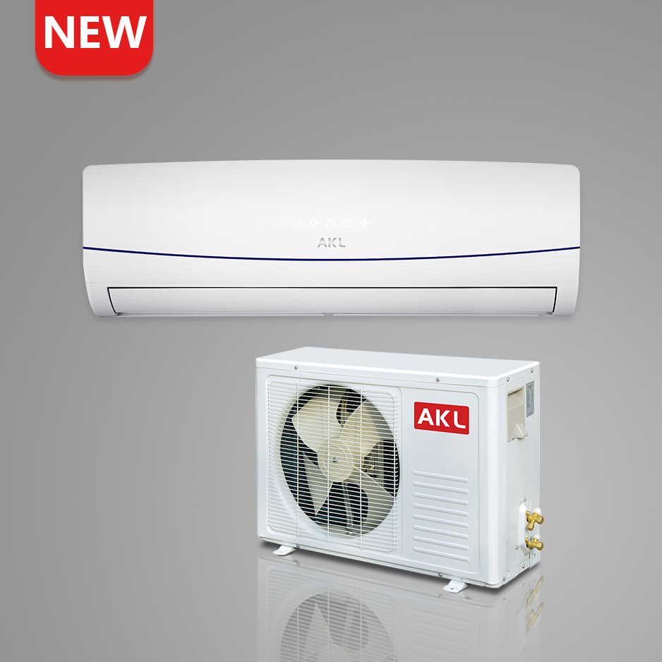 Super general low energy split air conditioner with temperature sensor
