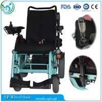 Best selling luxury power lift up seat wheelchair