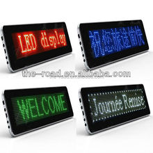 2017 Newest Full Color Outdoor Taxi Top Led Display Board/Mini Led Message Sign