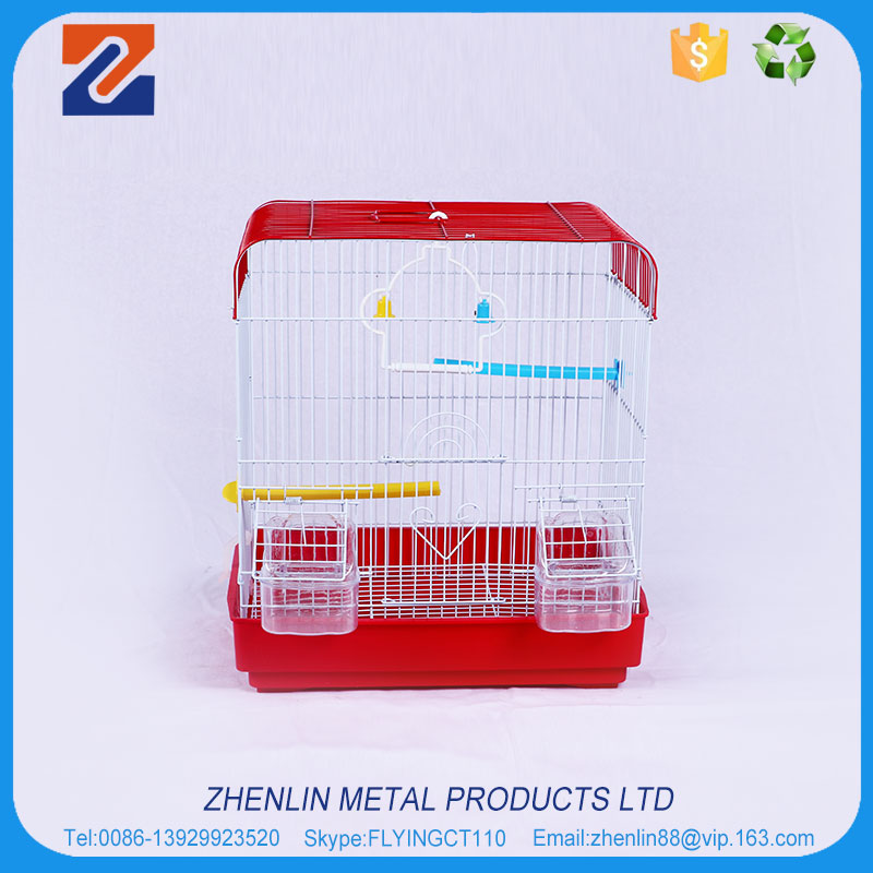2017 Hot sale small aluminium bird cage front