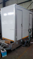Kit camper trailer, Portable Toilet, Movable trailer Toilet