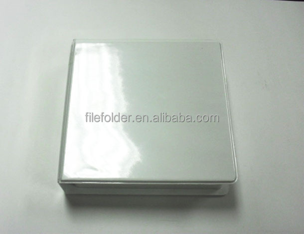Personalized clear wedding CD/DVD cases