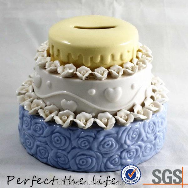 Different Colors Birthday Cake Ceramic Piggy Bank Money Box Buy