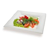 Eco-friendly compostable disposable sugarcane bagasse square plates