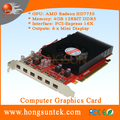 OEM AMD Radeon HD7750 4GB GDDR5 PCIE3.0 6xmini display ports Multiscreen video Card support six monitors