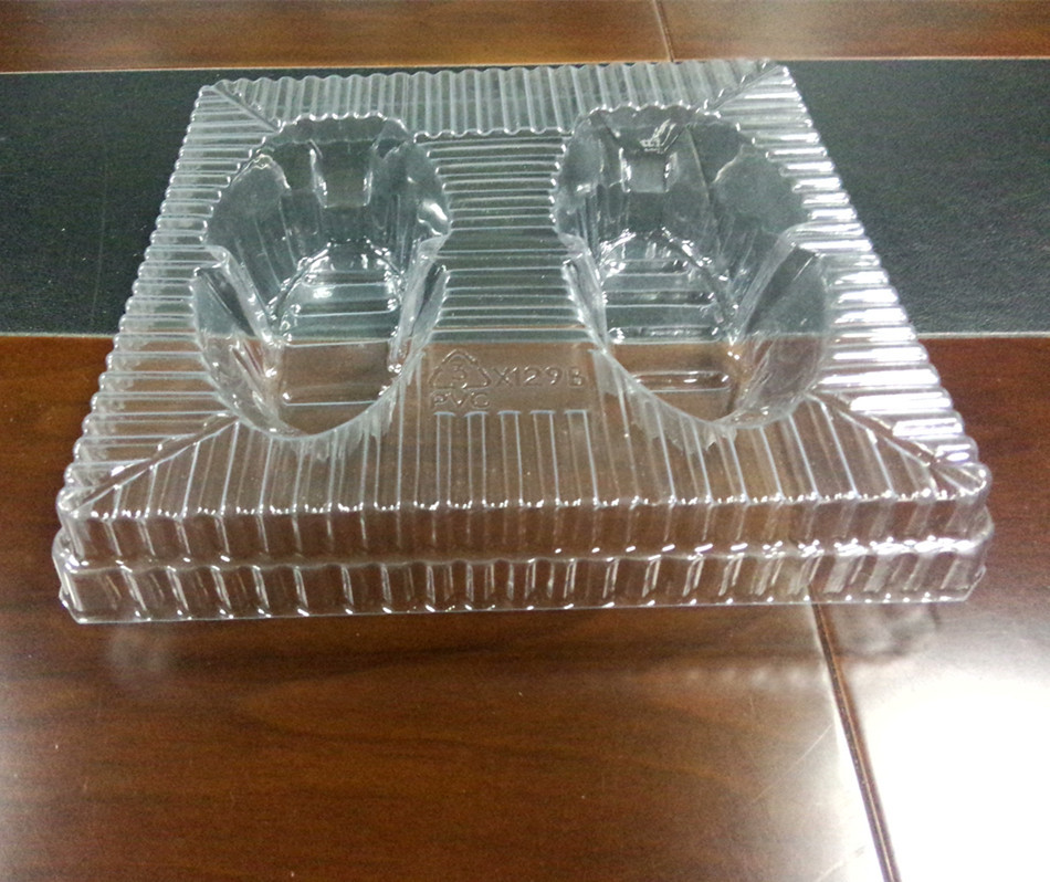 Custom plastic blister packing tray for electronics products,Electronic plastic packing tray with dividers wholesale