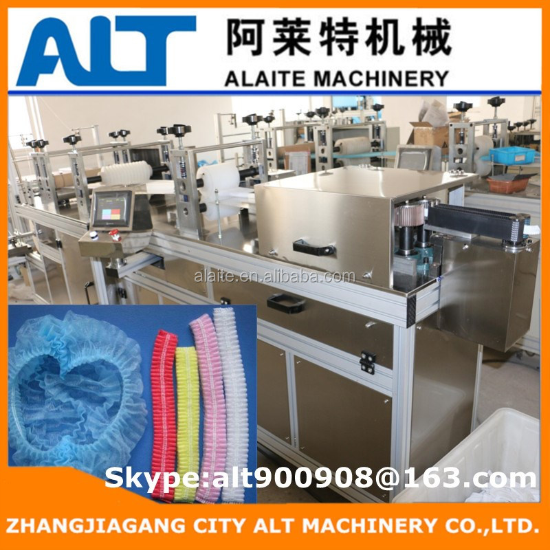 ALT-500 Ultrasonic Welding Disposable Cap Making Machine