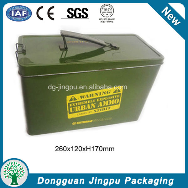 Guangdong metal tools storage box with handle