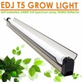 Hydroponic 4ft T5 HO 54W grow light EDJ T5 fluorescent T5 hanging light fixture Reflector ( NANO Reflector ) t5 Grow Light kit