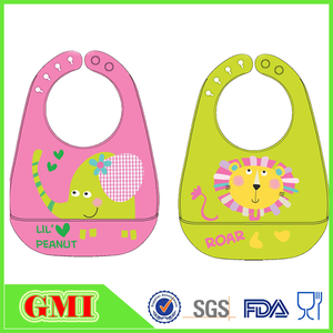 Babies Love Silicone infant toddlers drool bibs,baby toy bib