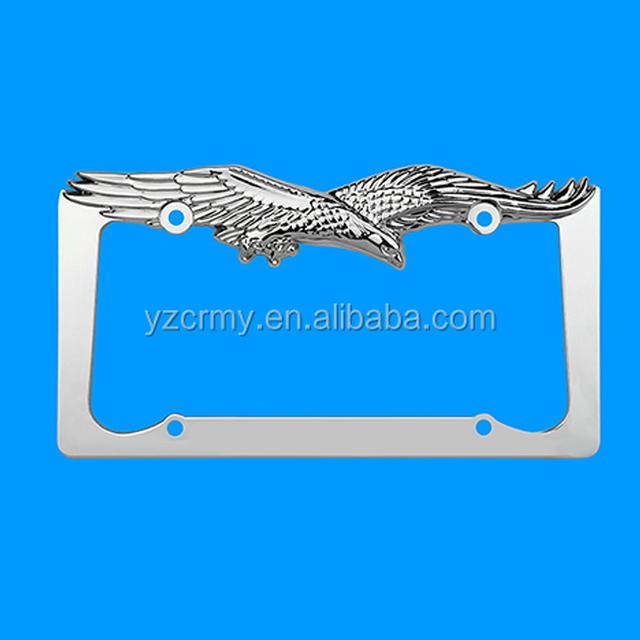 Eagle license plate frames