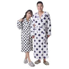 Couple's thicken warm ladies sexy night wear