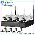 4CH WIFI NVR KITs 720P Outdoor IP Wireless Camera System 12V