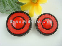 lovely fancy red coat buttons plastic button for children clothing