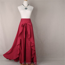 Fashion Hot Sale Latest long skirt design Women Maxi Skirt