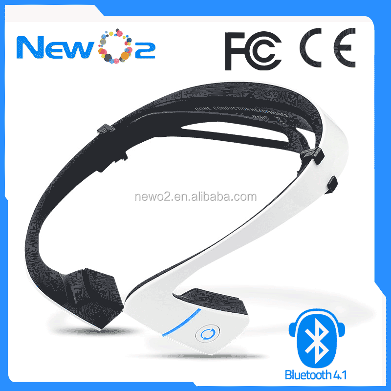 Bone Conduction headphones, Wireless Bluetooth Bone Conduction Earphone Headphones Headset with Built-in Microphone