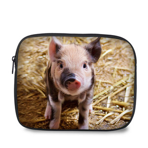 8 Inch best design cute pig print case protective tablet pouch for Ipad