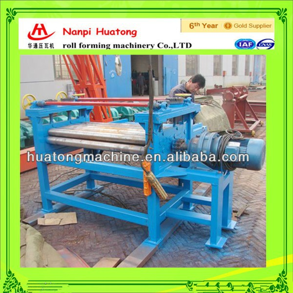Metal leveling machine