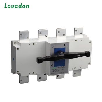 Electric Disconnect Switch 1600A Manual Power Transfer Switch Load Isolation Switches