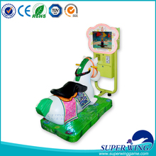 Superwing Amusement kiddie ride Coin operated horse racing game machine indoor kids 3D horse racing
