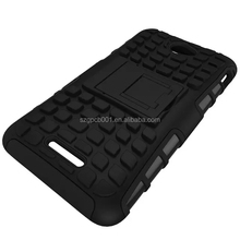 For SONY XPERIA E4G Armor CASE Heavy Duty Hybrid Rugged TPU Impact Kickstand Hard ShockProof CASE OUT DOOR CASE