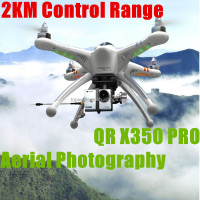 New 2014 2.4G RC drones professional for aerial photography fpv qr x350 quadcopter VS dji alloy structure mini helicopter