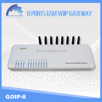 best selling 8 port goip gsm gateway/goip 8 channels gsm gateway/voip products