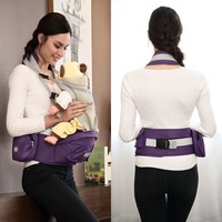 Customized Multifunctional Breathable bike baby carrier