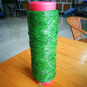 S-shape PE 11800Dtex 8F monofilament artificial turf grass yarn synthetic turf yarn