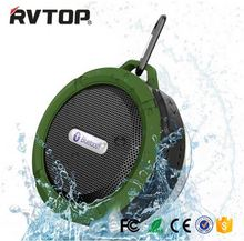 Hot Sell waterproof wireless shower Bluetooth speaker music player C6 speaker portable vibration speaker with high quality