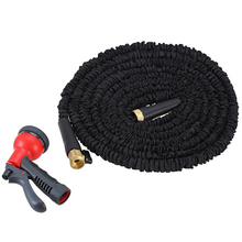 Modern design anti-abrasion 100FT quick connection expandable soft garden hoses with BSCI certificate