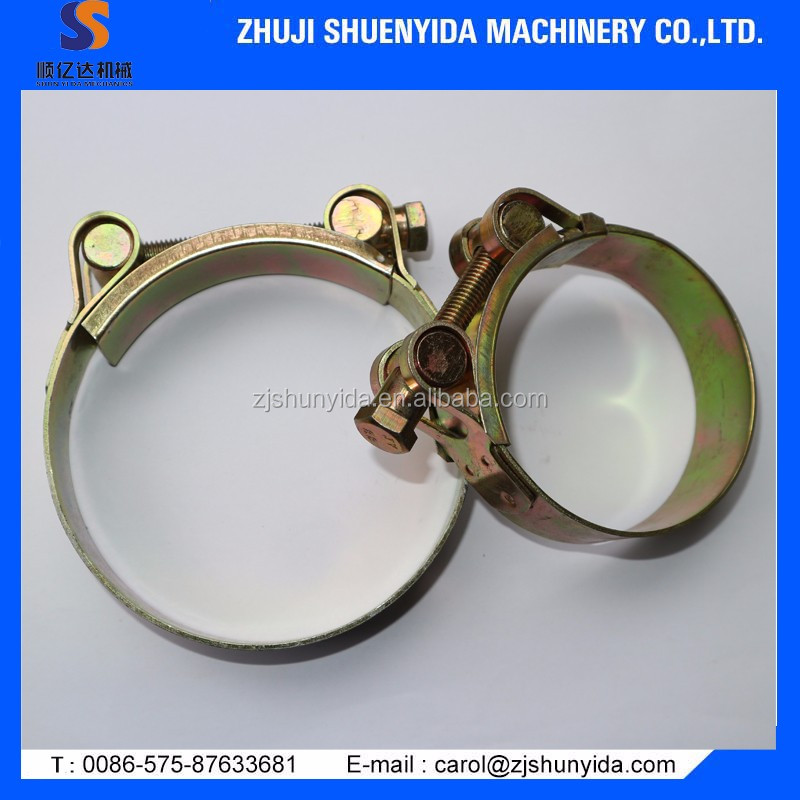 High quality and all sizes Hose Clamp with American/German type /British