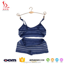 Cute dream girl sexy lingerie for young lady strap teen girls bra and panty sets