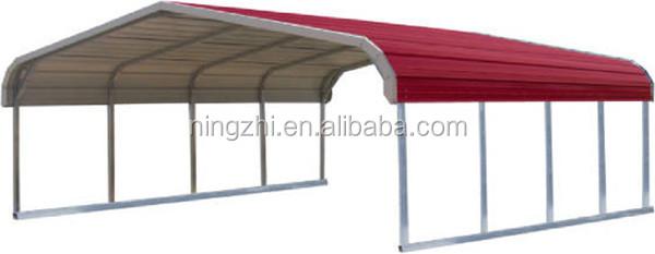 New design metal frame carport outdoor galvanized metal for Design a carport online