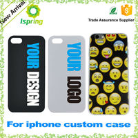 Factory supply hard plastic customized printed phone case for iPhone 6