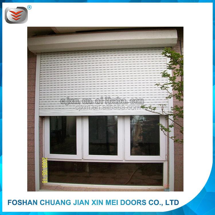 Hot sell aluminium electric window roller shutter 2016 new - Electric window shutters interior ...