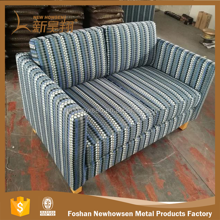 Fabric Sofa Striped Upholstery Fabric For Versace Furniture