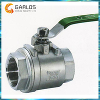 Q11F-3 Quarter turn lockable ball valve with handle