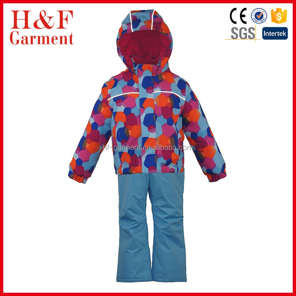 high quality waterproof windproof Toddler Snowsuit