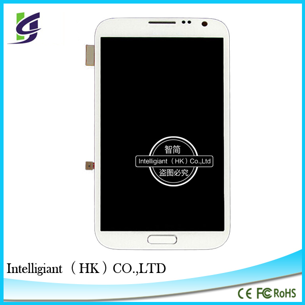 Alibaba express for samsung galaxy note 2 ii i317 n7100 t889 lcd screen with frame