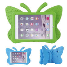 Kidchild safe EVA shockproof thick foam Butterfly kickstand case for tablet For iPad Mini